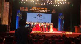 Dreamhomes Việt Nam được tôn vinh lọt vào top 30 thương hiệu, sản phẩm, dịch vụ hàng đầu Viêt Nam 2017